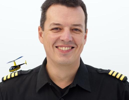Dirk Schepanek Hubschrauber Pilot