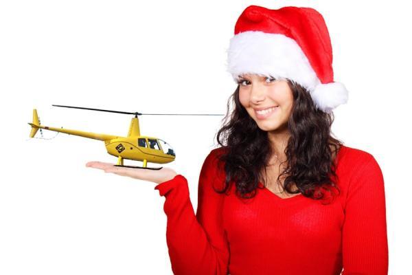 Geschenkidee Weihnachten Geschenk Gutschein Hubschrauber Rundflug Fliegen Rundflüge Überraschung Helikopter Rundflüge