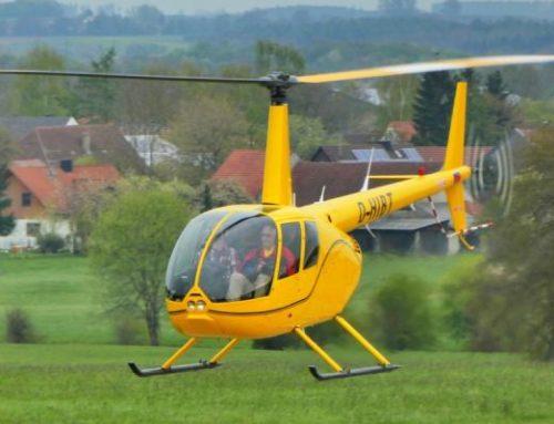 Im Porträt: Hubschraubertyp Robinson R44