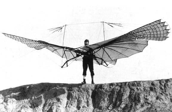 Lilienthal- warum kann ein Hubschrauber fliegen