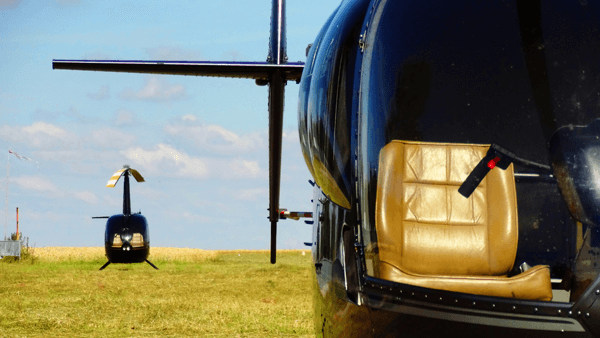 hubschrauber r44 robinson helicopter bubble windows