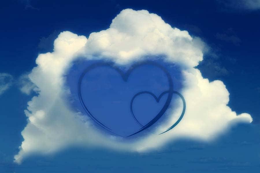 muttertag Valentinstag Geschenkidee Paar Hubschrauber Rundflug Herz Himmel