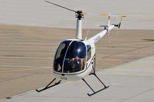 robinson helicopter r22 beta hubschrauber fliegen