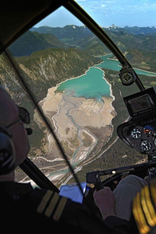 Ausbildung Pilot Privat Lizenz PPL Muenchen R44
