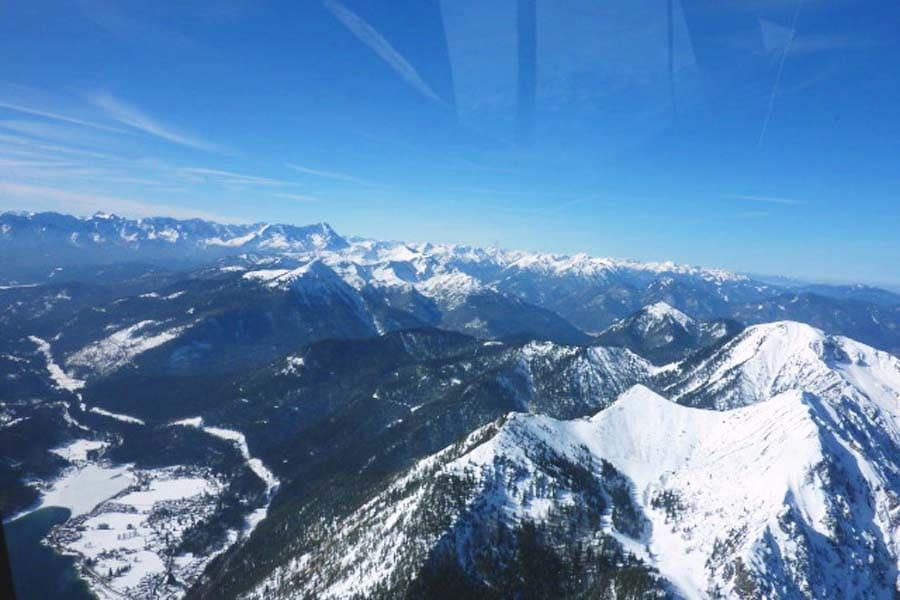 allgauer alpen rundflug hubschrauber leutkirch kempten